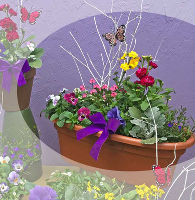 Spring Pot of Cheer 19.99